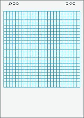 Flipchart papír négyzetrácsos / kockás, 65x91cm 20 lap/tömb