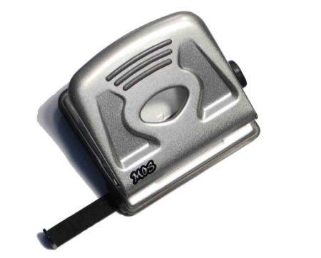 MOS 630 irodai lyukasztó ezüst fém (30 lapos)