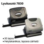 MOS 7830 IRODAI LYUKASZTÓ FEKETE (30 LAPOS)