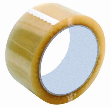 Ragasztószalag / Csomagolószalag 48mm X 50M 48x50 átlátszó / DEKOR (raktáron)