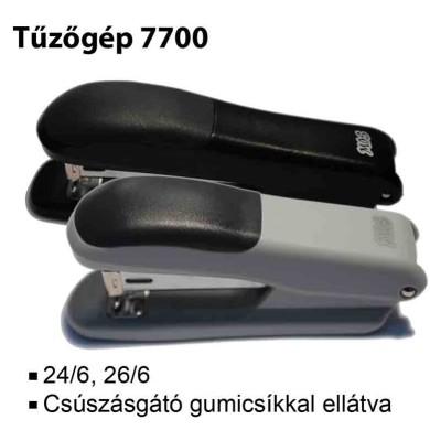 MOS 7700 tűzőgép 24/6 szürke