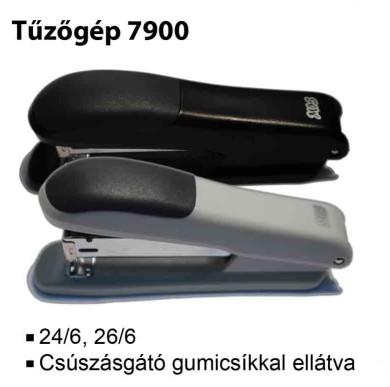 MOS 7900 tűzőgép 24/6 szürke