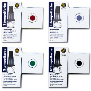 Bélyegzőfesték Fornax/Opoint 28 ml kék 3215