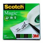 Ragasztószalag Scotch MAGIC TAPE 12MMX33M