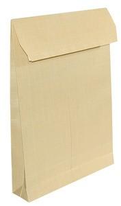 Boríték TB/4 TB4 redős-talpas, szilikonos, 40 mm talpméret, barna 250 db/doboz