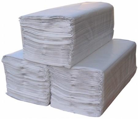 Kéztörlő Natúr V hajtogatot 20x25cm, 250 lap/csomag