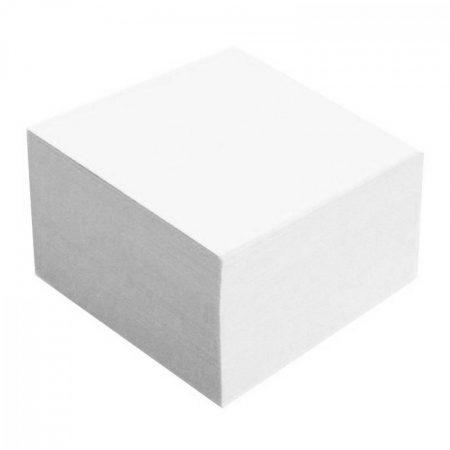 ÍRÓTÖMB, tépőtömb, kockatömb Fehér 9x9x5 cm