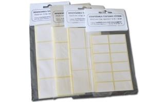 Etikett címke kézi 50X25mm 60 db/csomag