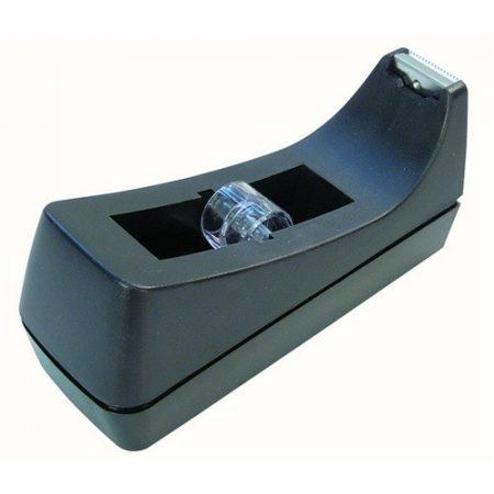 Celluxtépő, ragasztószalag adagoló Fornax asztali, fekete