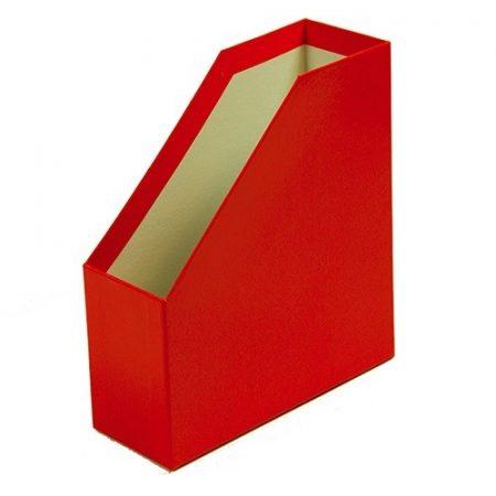 Iratpapucs A/4 fóliás piros