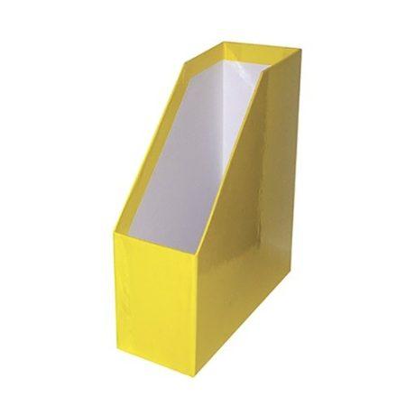 Iratpapucs A/4 fóliás sárga