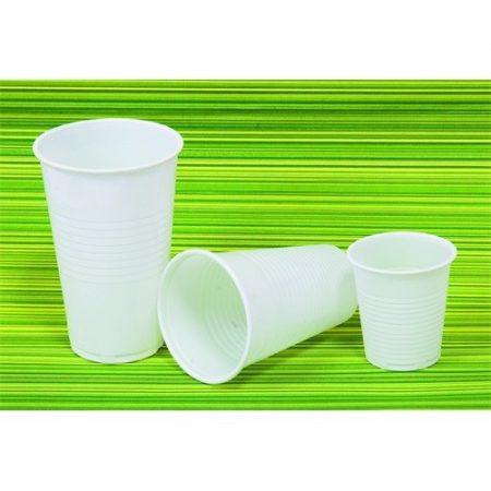 Műanyag POHÁR 1DL 100 DB/CSOM