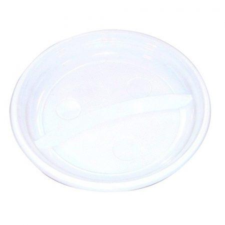 Műanyag TÁNYÉR lapos 20,5CM 50 DB/CSOM