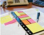 Öntapadós jegyzettömb Info Notes gyűrűkönyv betéten
