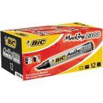 Alkoholos Filc BIC 2300 marker vágott fekete