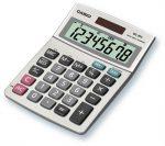 Casio MS-80B Asztali számológép 8dig. fém házas