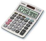 CASIO MS-100B MS Asztali számológép 10dig nagy kijelző