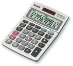 CASIO Asztali számológép MS-120, 12digit, nagy kijelző