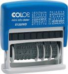 Colop S 120/WD fix szavas dátumbélyegző