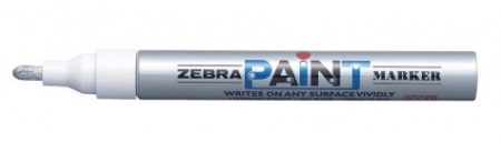Lakkmarker Zebra Paint Marker (lakkfilc) ezüst