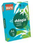 REY Adagio színes másolópapír, intenzív kék, A4, 80 g, 500 lap/csomag