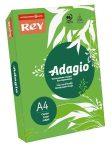 REY Adagio színes másolópapír, intenzív zöld, A4, 80 g, 500 lap/csomag