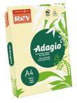 REY Adagio színes másolópapír, pasztell sárga, A4, 80 g, 500 lap/csomag