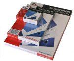 Lamináló fólia Reco A/4 303x216 75mic öntapadós 100 db/csomag