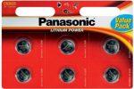 PANASONIC LITHIUM GOMBELEM  CR2025L 3V 6 DB/CSOMAG