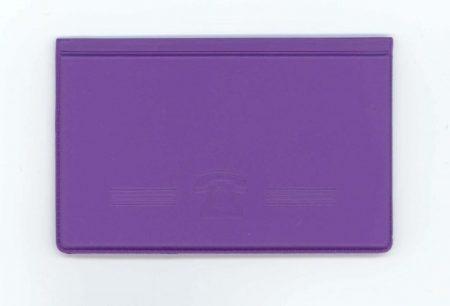 Biurfol névjegytartó zsebbe saját névjegyeknek New Colours lila