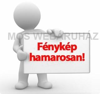 Gumis mappa, 15 mm, karton, A4, lakkfényű, Leitz Wow, fehér