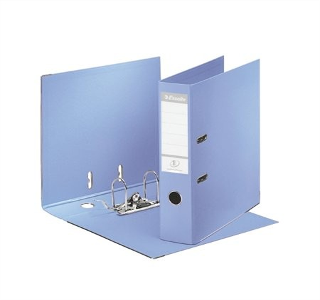 Iratrendező, 75 mm, A4, PP/PP, élvédő sínnel, Esselte Standard, levendula (231036)