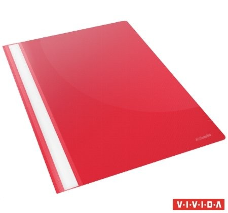 Gyorsfűző, PP, A4, Esselte Standard, piros 25db/csomag (15385)