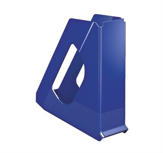 Iratpapucs, műanyag, 68 mm, Esselte Europost, kék