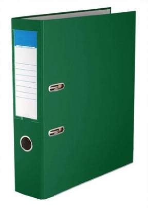 75mm Standard Emelőkaros Iratrendező, zöld
