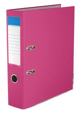 75mm Standard Emelőkaros Iratrendező, rózsaszín