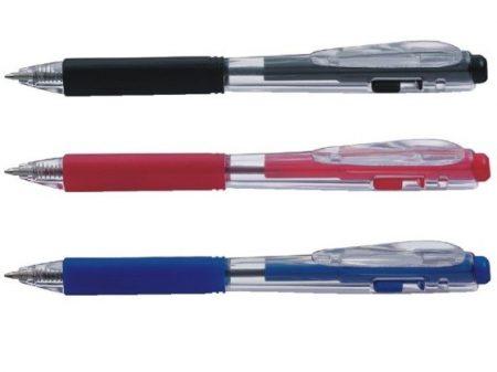 Golyóstoll Pentel BK437-B 0.7 mm piros