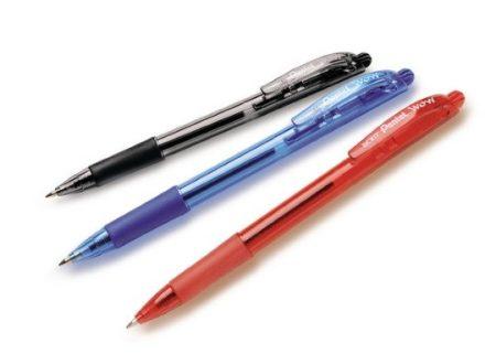 Golyóstoll Pentel BK417-B 0.7 mm piros eldobható