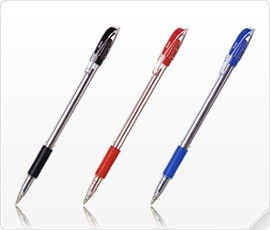 Golyóstoll Pentel BK407-B 0.7 mm piros