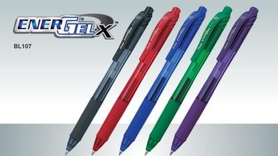 Roller toll Pentel EnergelX BL107-A 0.7 mm fekete