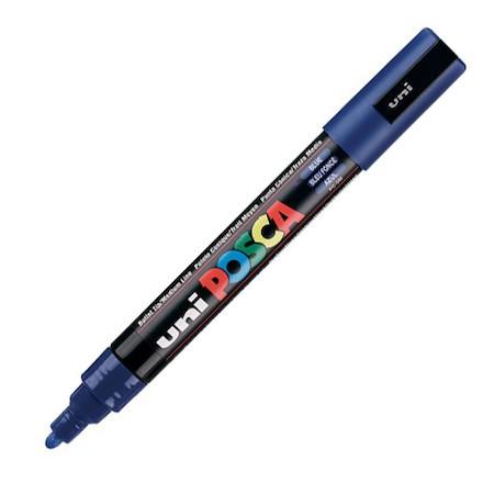 Dekormarker Uni Posca PC-5M 1.8-2.5 mm, kúpos, kék (33)