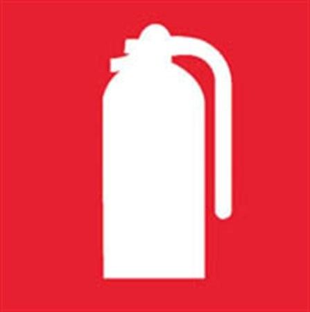 Információs matrica, tűzoltó készülék, Apli