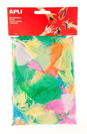 Toll, Apli Creative, vegyes pasztell színek 100 db/csom