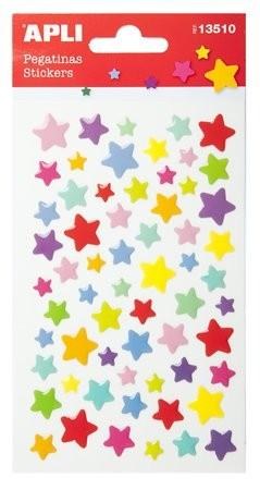Matrica, pufi, Apli, csillagok 1 ív/csom