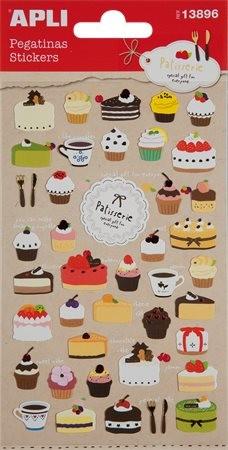 Matrica, Apli, sütemények 1 ív/csom