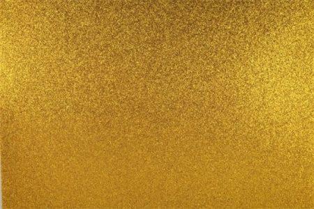 Moosgumi, 400x600 mm, glitteres, Apli Eva Sheets, arany 3 ív/csom