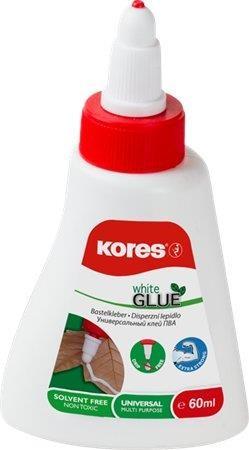 Hobbyragasztó, 60 g, Kores White Glue (IK75816)