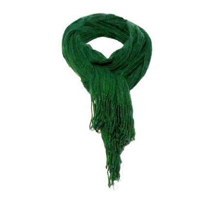 Gina női sál, húzott, zöld (CO90519-1)