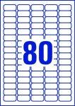 ETIKETT CÍMKE UNIVERZÁLIS 35,6x16,9 MM 80 DB/ÍV, 25 ÍV/CSOMAG