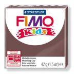 Gyurma, 42 g, égethető, Fimo Kids, barna (FM80307)